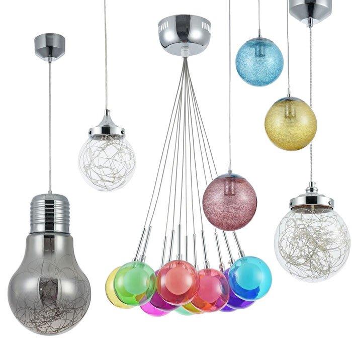 Подвесные светильники от Freya - изящество простоты