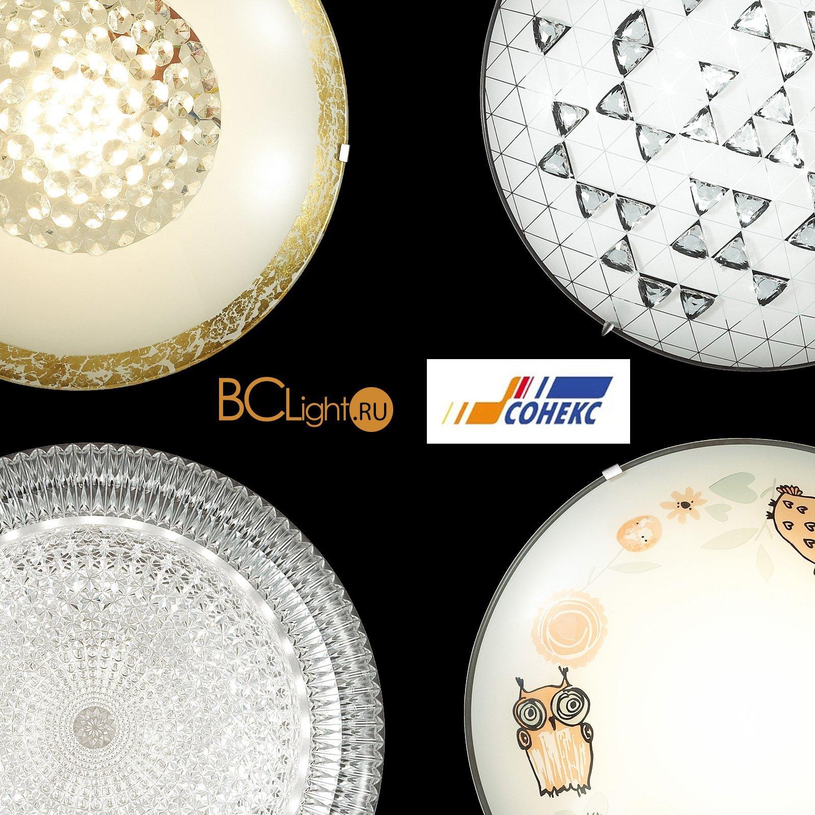 Весенние новинки потолочных светильников Sonex