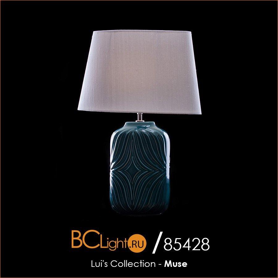 Полный обзор настольной лампы LUI/MUSE TURQSE + LUI/LS1124 коллекции Muse от Lui's Collection
