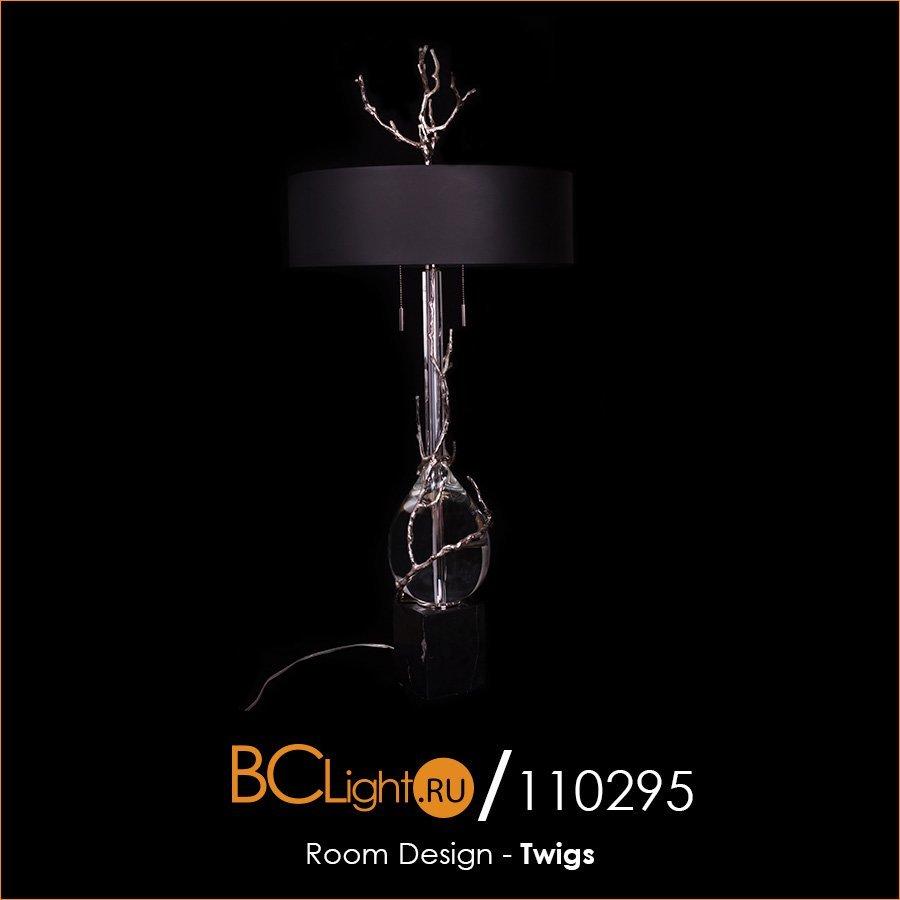 Полный обзор настольной лампы серии Twigs от Room Design