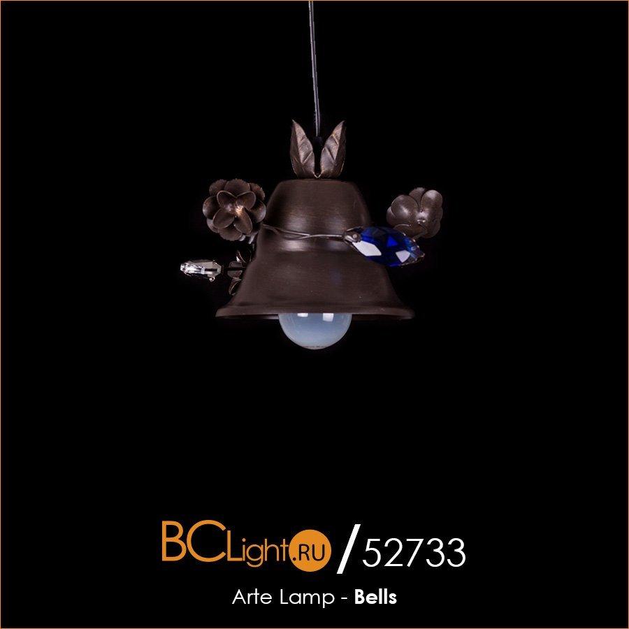 Полный обзор подвесного светильника Arte Lamp Bells a1795sp-1ri
