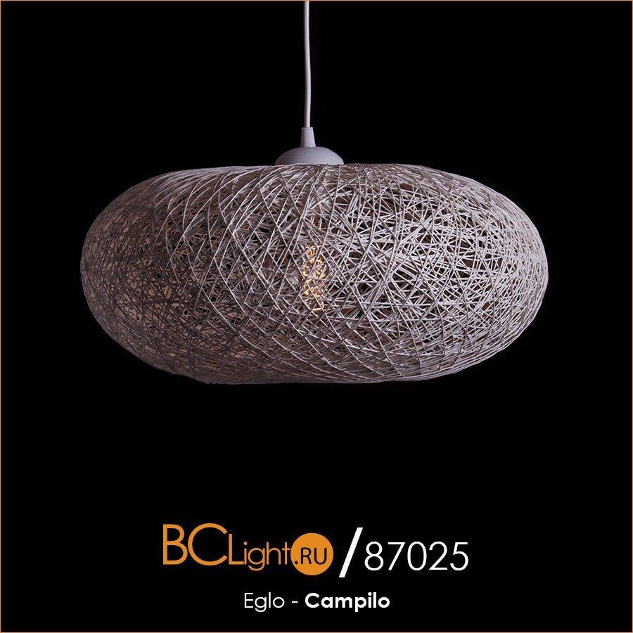 Полный обзор подвесного светильника Eglo Campilo 93373