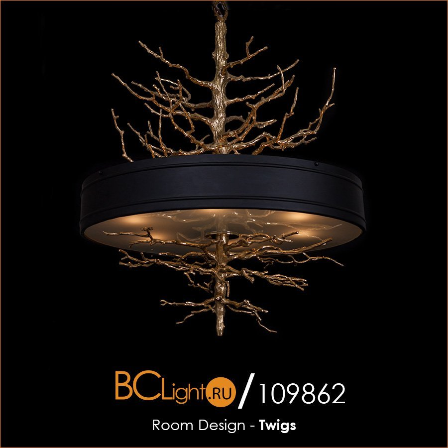 Полный обзор подвесного светильника коллекции Twigs от Room Design