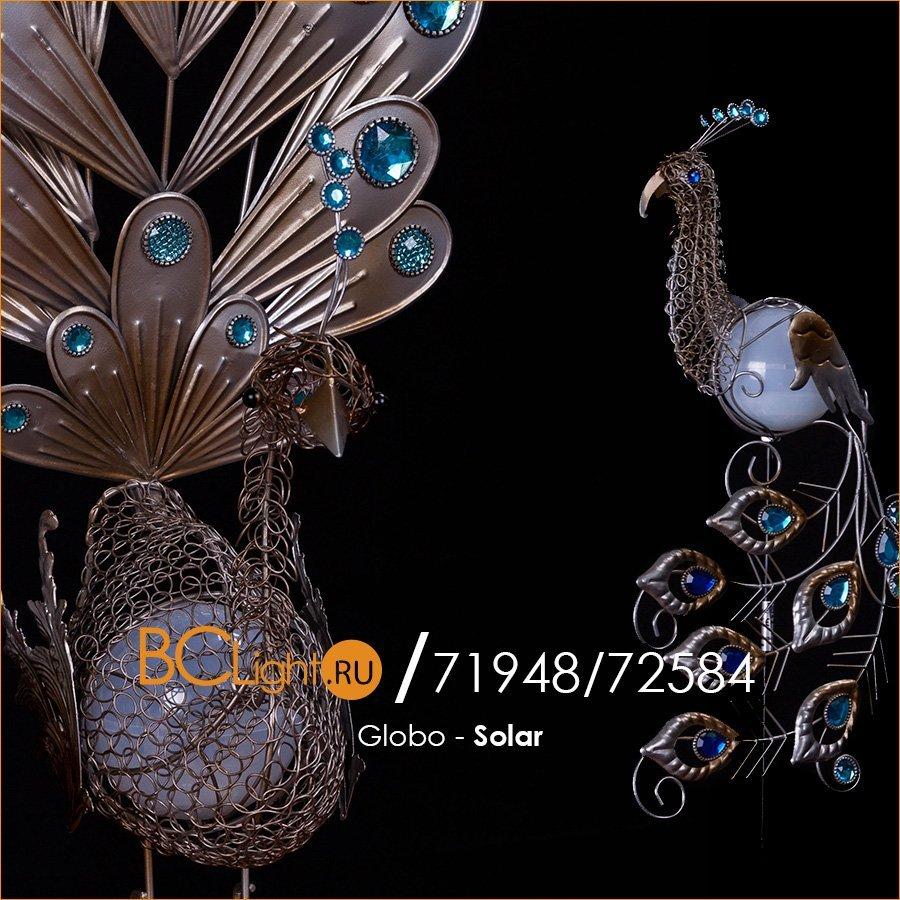 Полный обзор садовых светильников Globo Solar 33309 и Globo Solar 33309S