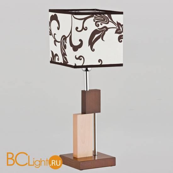 Настольный светильник Alfa Qube Brown 9414