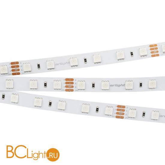 Светодиодная лента RT 2-5000 24V RGB 2x (5060, 300 LED, LUX) (arlight, 14.4 Вт/м, IP20) 010367(2)