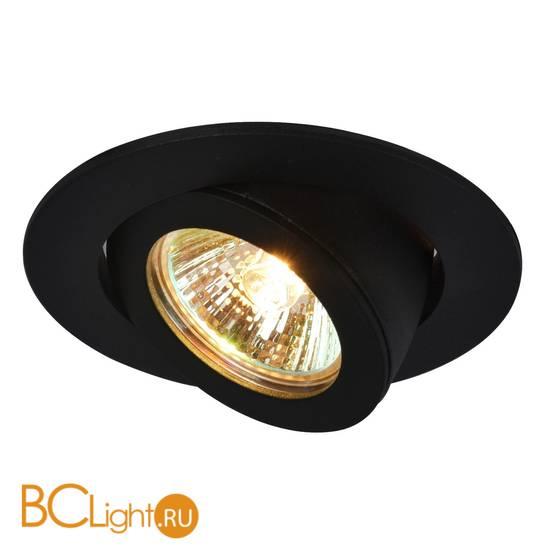 Встраиваемый спот (точечный светильник) Arte Lamp Accento A4009PL-1BK