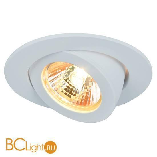 Встраиваемый точечный светильник Arte Lamp Accento A4009PL-1WH