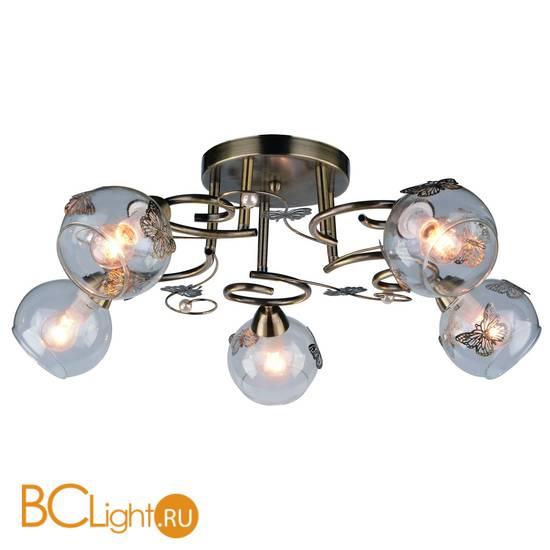 Потолочная люстра Arte Lamp Alessandra A5004PL-5AB