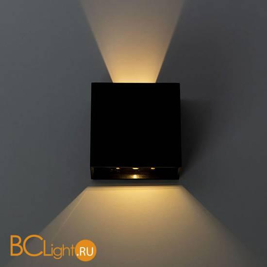 Уличный настенный светильник Arte Lamp Algol A1445AL-1BK