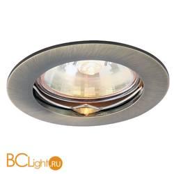 Встраиваемый спот (точечный светильник) Arte Lamp Basic A2103PL-1AB