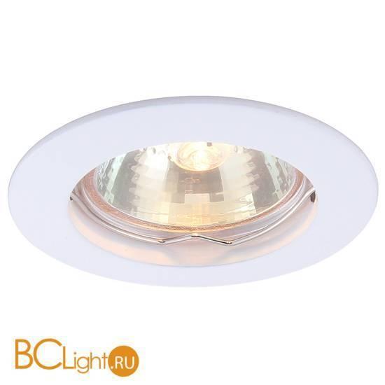 Встраиваемый спот (точечный светильник) Arte Lamp Basic A2103PL-1WH