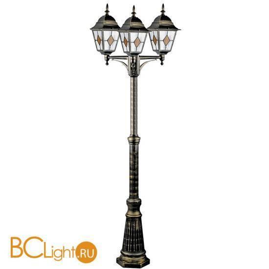 Садово-парковый светильник Arte Lamp Berlin A1017PA-3BN