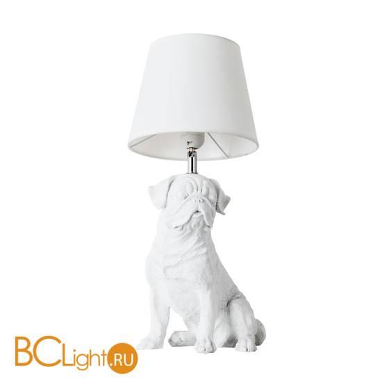 Настольная лампа Arte Lamp Bobby A1512LT-1WH