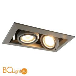 Встраиваемый спот (точечный светильник) Arte Lamp Cardani A5941PL-2GY