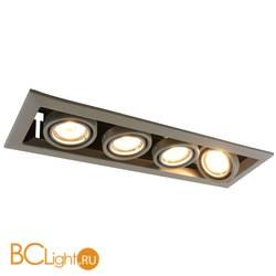 Встраиваемый спот (точечный светильник) Arte Lamp Cardani A5941PL-4GY