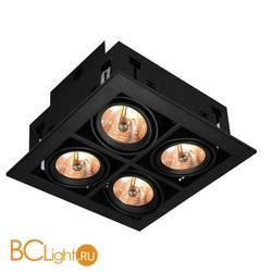 Встраиваемый спот (точечный светильник) Arte Lamp Cardani A5930PL-4BK
