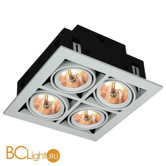Встраиваемый спот (точечный светильник) Arte Lamp Cardani A5930PL-4WH