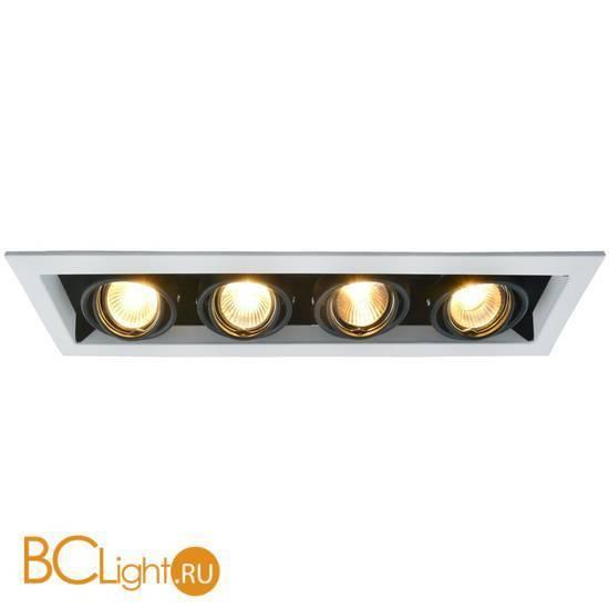 Встраиваемый спот (точечный светильник) Arte Lamp Cardani A5941PL-4WH