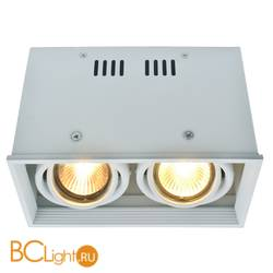 Спот (точечный светильник) Arte Lamp Cardani A5942PL-2WH