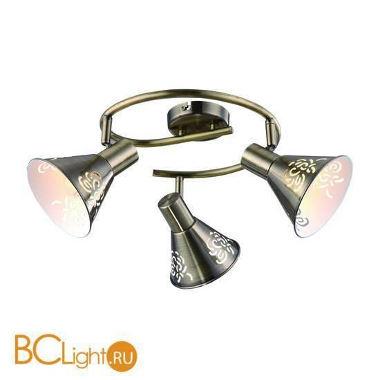 Потолочная люстра Arte Lamp Cono A5218PL-3AB