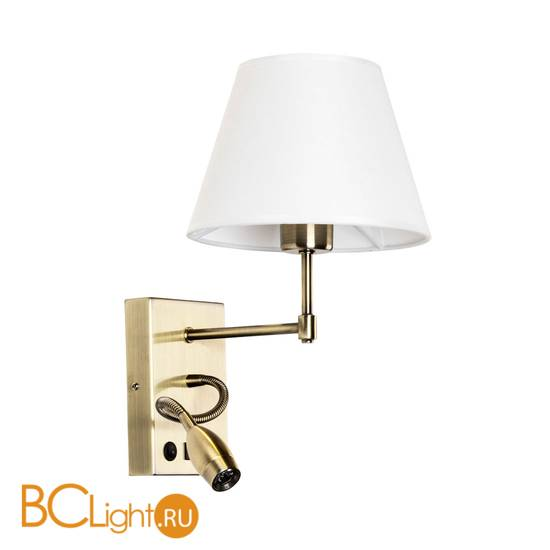 Бра Arte Lamp Elba A2581AP-2AB
