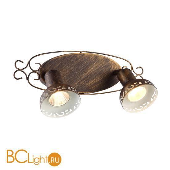 Спот (точечный светильник) Arte Lamp Focus A5219AP-2BR