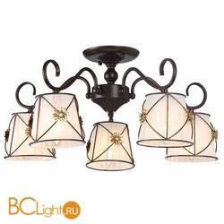 Потолочная люстра Arte Lamp Fortuna A5495PL-5BR