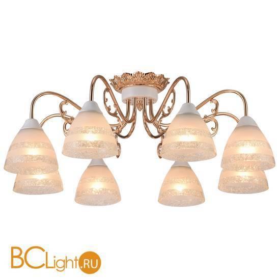 Потолочная люстра Arte Lamp Francesca A7072PL-8WG