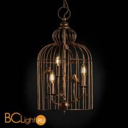 Подвесной светильник Arte Lamp Gabbia A1865SP-3BG