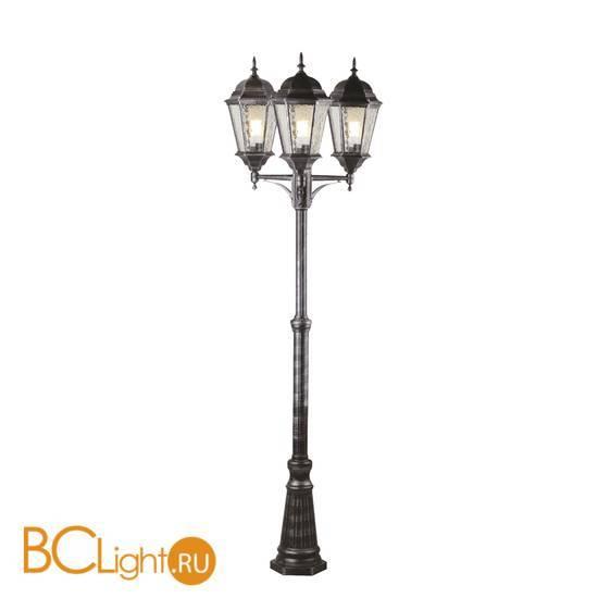 Садово-парковый фонарь Arte Lamp Genova A1207PA-3BN