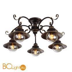 Потолочная люстра Arte Lamp Grazioso A4577PL-5CK