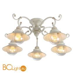 Потолочная люстра Arte Lamp Grazioso A4577PL-5WG