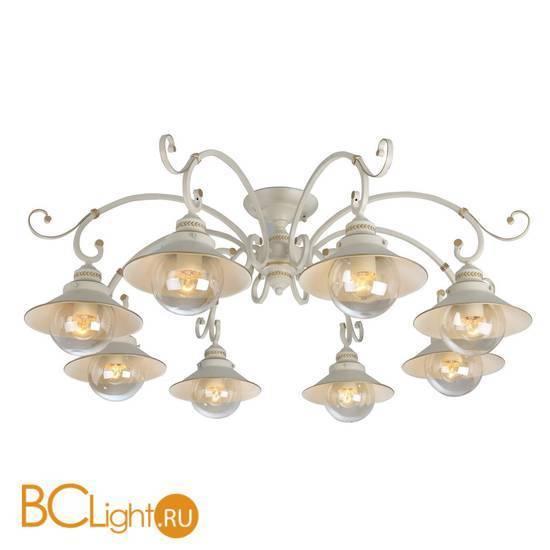 Потолочная люстра Arte Lamp Grazioso A4577PL-8WG