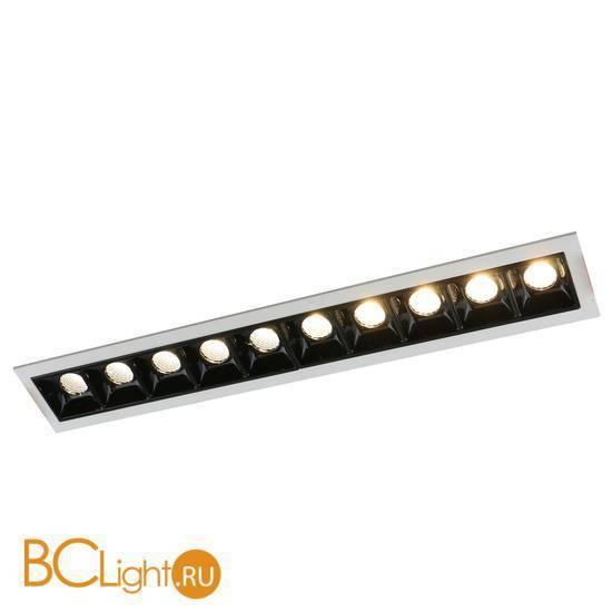 Встраиваемый спот (точечный светильник) Arte Lamp Grill A3153PL-10BK