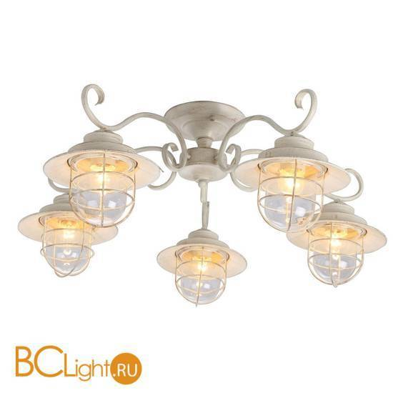 Потолочная люстра Arte Lamp Lanterna A4579PL-5WG
