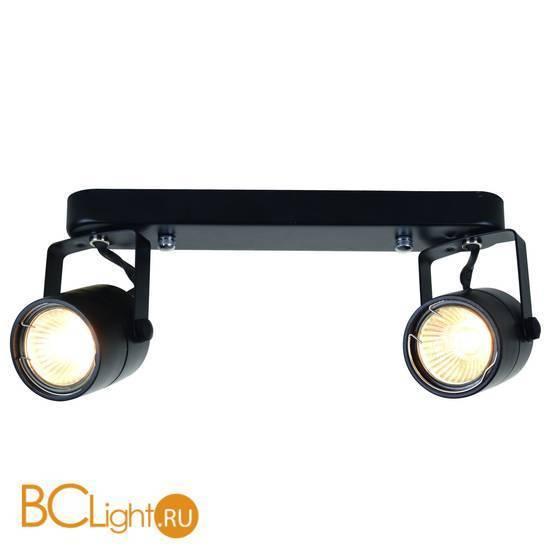 Спот (точечный светильник) Arte Lamp Lente A1310PL-2BK