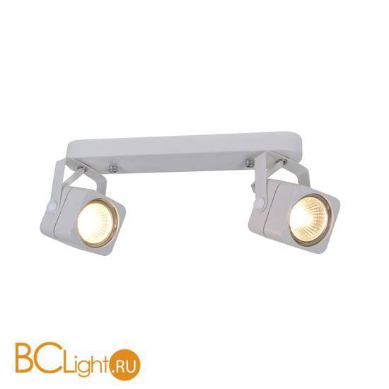 Спот (точечный светильник) Arte Lamp Lente A1314PL-2WH
