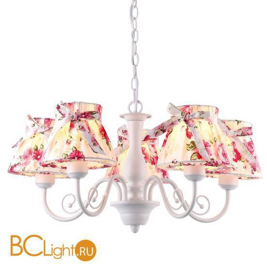 Люстра Arte Lamp Margherita A7021LM-5WH