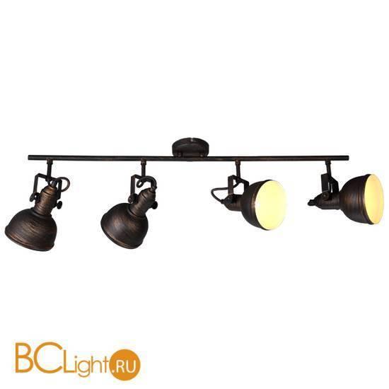 Спот (точечный светильник) Arte Lamp Martin A5215PL-4BR