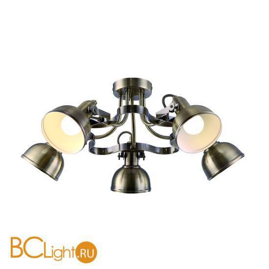 Потолочная люстра Arte Lamp Martin A5216PL-5AB