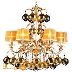 Люстра Arte Lamp Monarch A1199LM-6GO