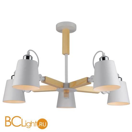 Потолочная люстра Arte Lamp Oscar A7141PL-5WH