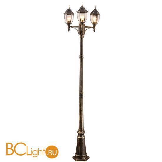 Садово-парковый фонарь Arte Lamp Pegasus A3151PA-3BN