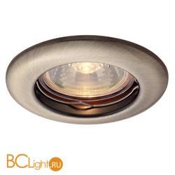 Встраиваемый спот (точечный светильник) Arte Lamp Praktisch A1203PL-1AB
