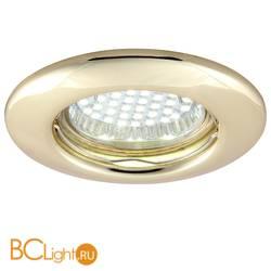 Встраиваемый спот (точечный светильник) Arte Lamp Praktisch A1203PL-1GO