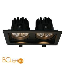 Встраиваемый спот (точечный светильник) Arte Lamp Privato A7007PL-2BK