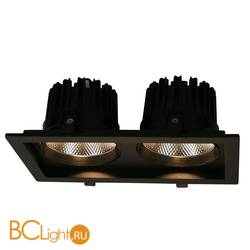 Встраиваемый спот (точечный светильник) Arte Lamp Privato A7018PL-2BK