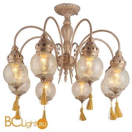 Потолочная люстра Arte Lamp Sultan A2146PL-8GA