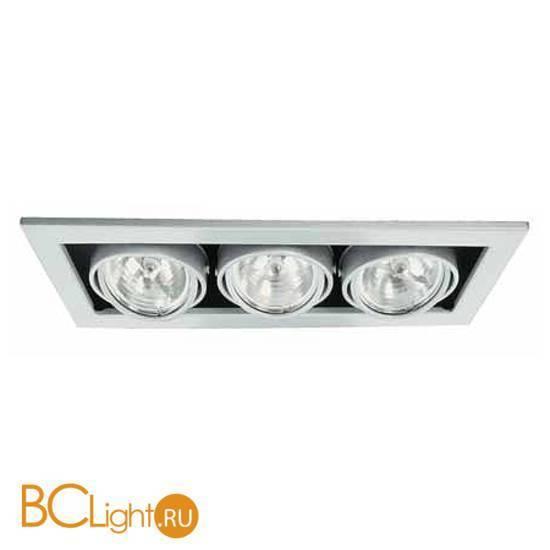 Встраиваемый светильник Arte Lamp Technika A5930PL-3SI